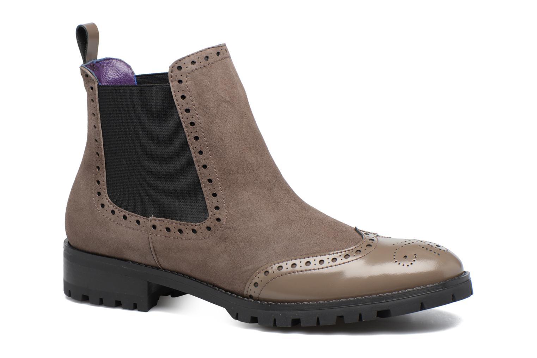 Bottines et boots Anaki Tierra Marron vue détail/paire