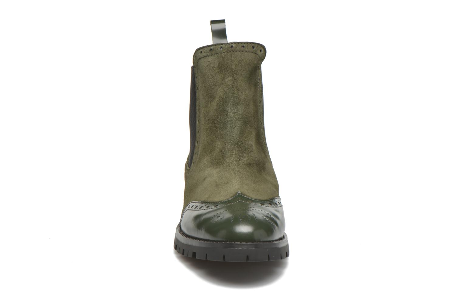 Ankle boots Anaki Tierra Green model view