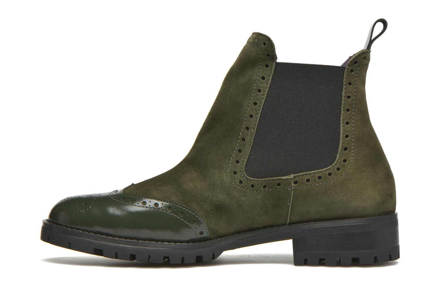 Ankle boots Anaki Tierra Green front view