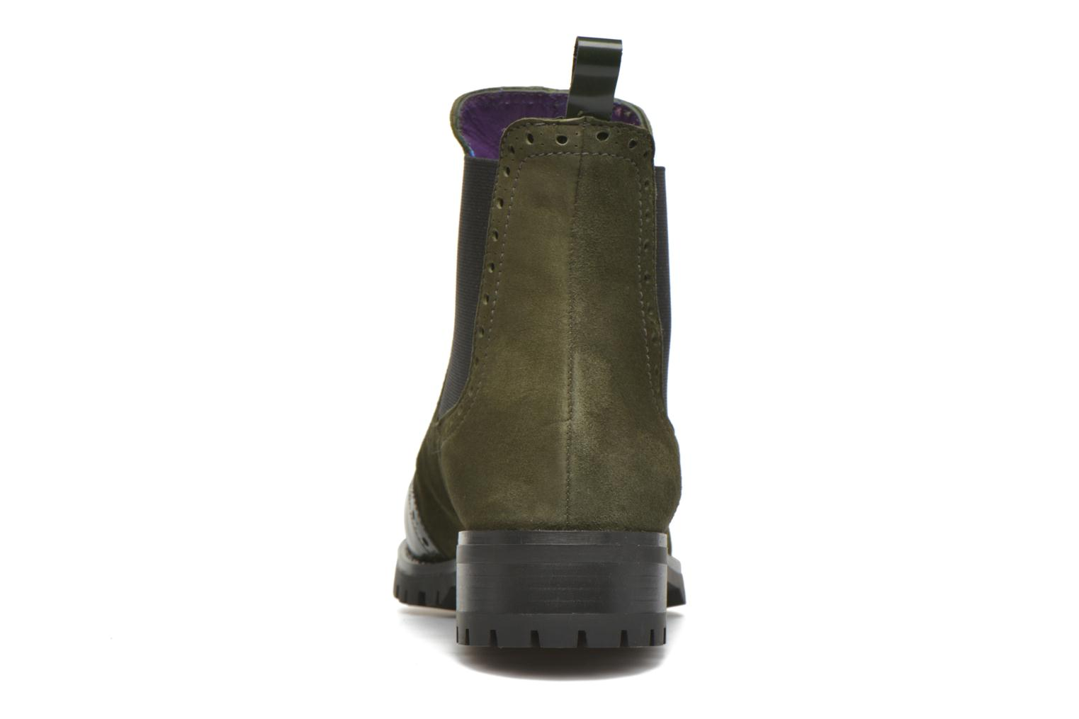 Ankle boots Anaki Tierra Green view from the right