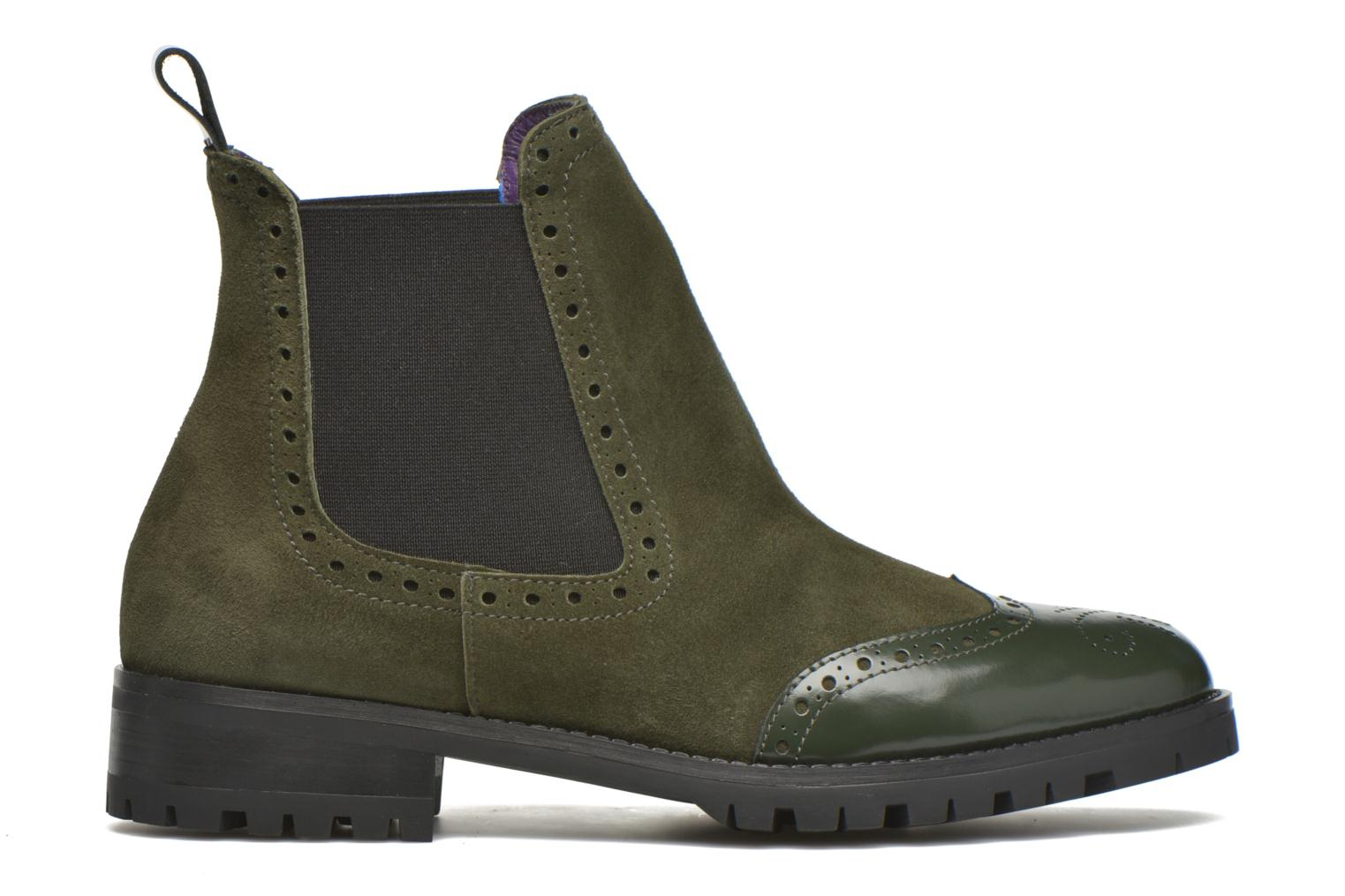Ankle boots Anaki Tierra Green back view