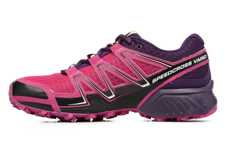 Chaussures de sport Salomon SpeedCross Vario W Rose vue face