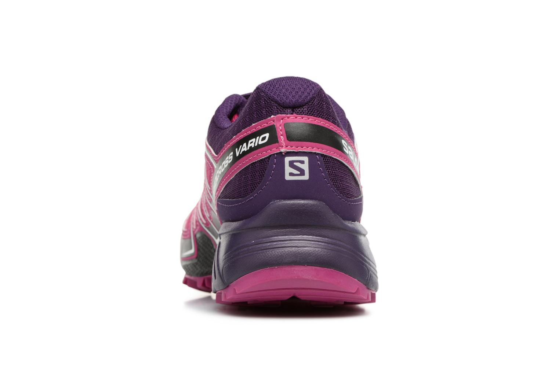 Chaussures de sport Salomon SpeedCross Vario W Rose vue droite