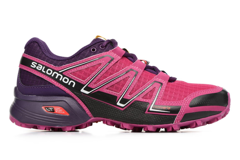 Sportschoenen Salomon SpeedCross Vario W Roze achterkant