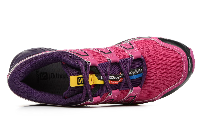 Chaussures de sport Salomon SpeedCross Vario W Rose vue gauche