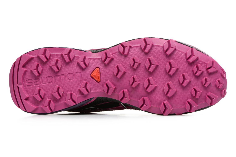 Chaussures de sport Salomon SpeedCross Vario W Rose vue haut