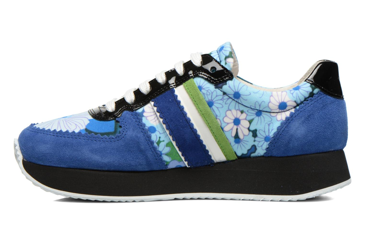 Baskets Carven Aloa Bleu vue face
