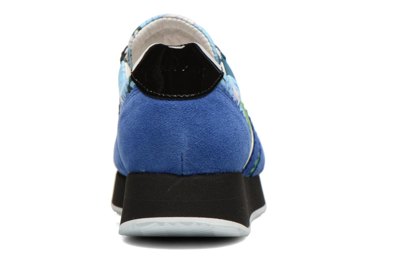Baskets Carven Aloa Bleu vue droite