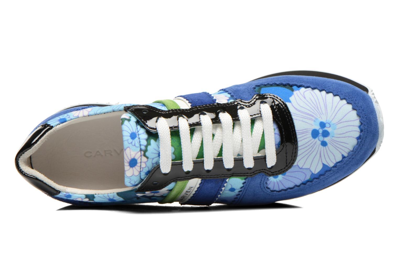 Sneaker Carven Aloa blau ansicht von links