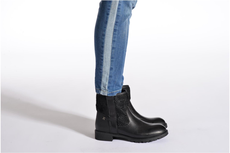 Bottines et boots Refresh Bali-61423 Noir vue bas / vue portée sac