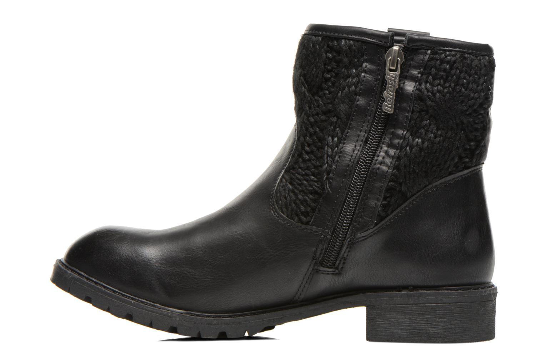 Bottines et boots Refresh Bali-61423 Noir vue face