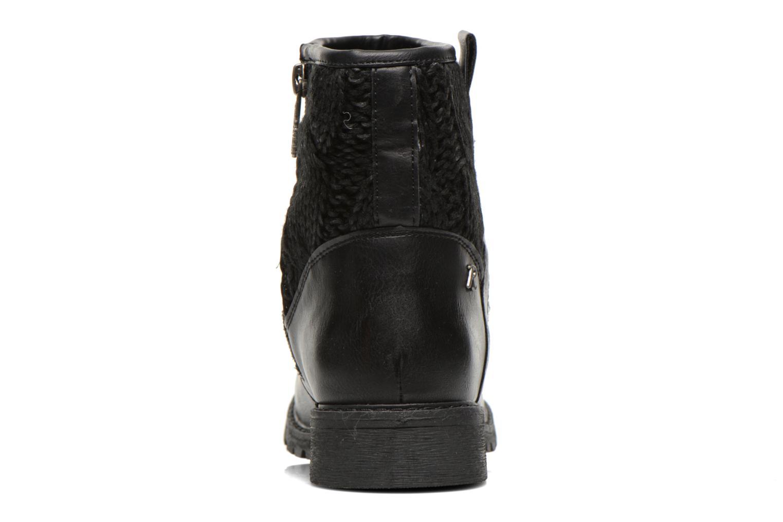 Bottines et boots Refresh Bali-61423 Noir vue droite