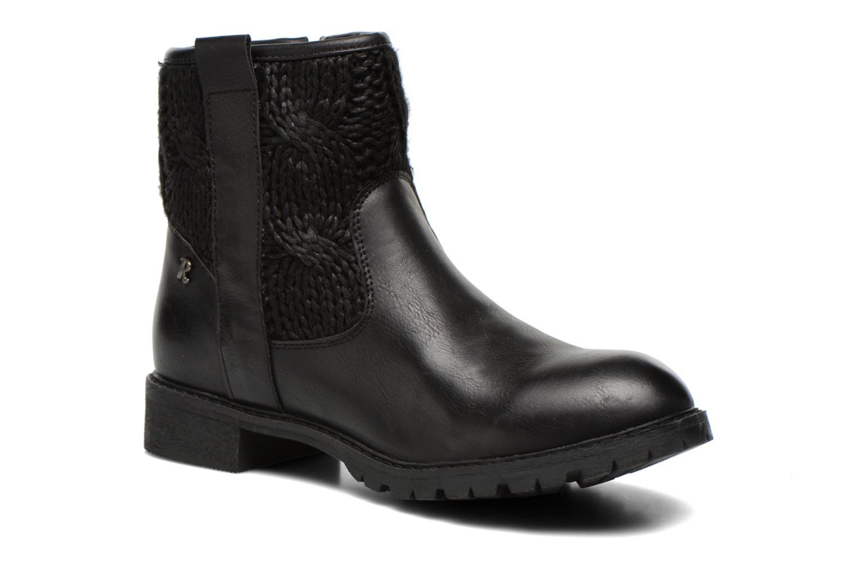 Bottines et boots Refresh Bali-61423 Noir vue détail/paire