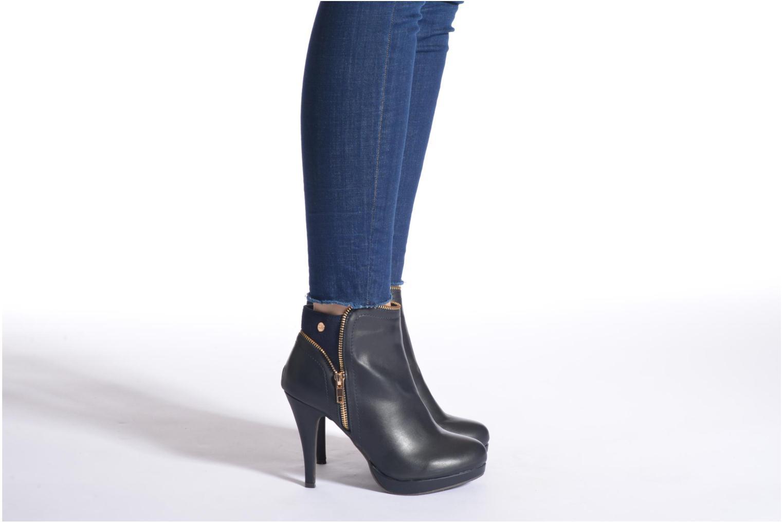 Bottines et boots Xti Joli-28452 Noir vue bas / vue portée sac