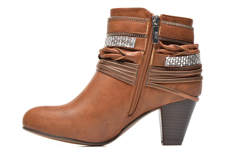 Bottines et boots Xti Doria-28813 Marron vue face