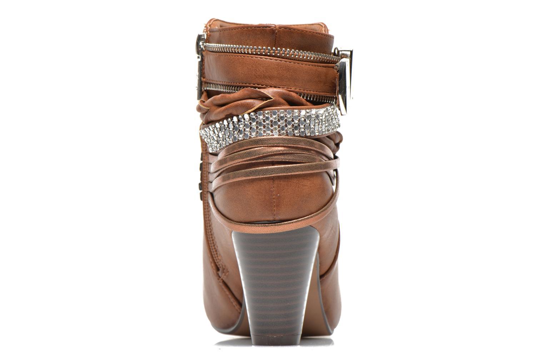 Bottines et boots Xti Doria-28813 Marron vue droite
