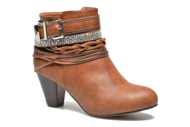 Marques Chaussure femme Xti femme Mila 45011 Camel