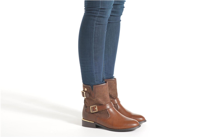 Bottines et boots Xti Ondine-28503 Beige vue bas / vue portée sac