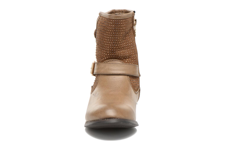 Bottines et boots Xti Ondine-28503 Beige vue portées chaussures