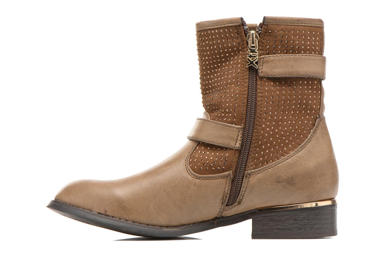 Bottines et boots Xti Ondine-28503 Beige vue face