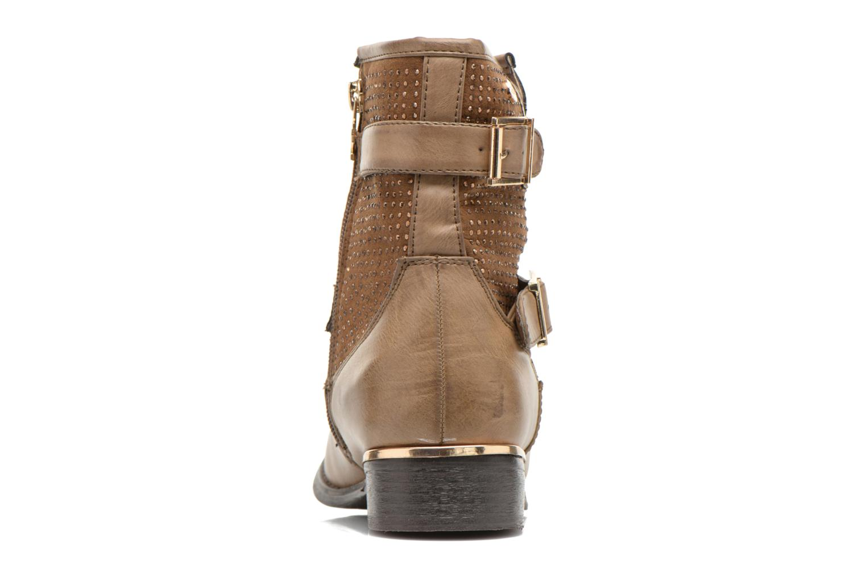 Bottines et boots Xti Ondine-28503 Beige vue droite