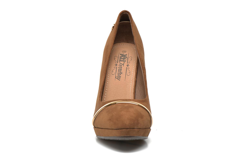 Escarpins Xti Pauline-28359 Marron vue portées chaussures