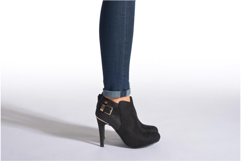 Bottines et boots Xti Millye-28350 Noir vue bas / vue portée sac
