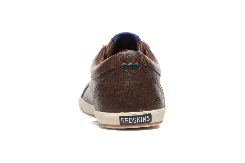 Sneakers Redskins Tipazul Bruin rechts