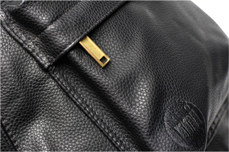 Gold tumbled Backpack Black