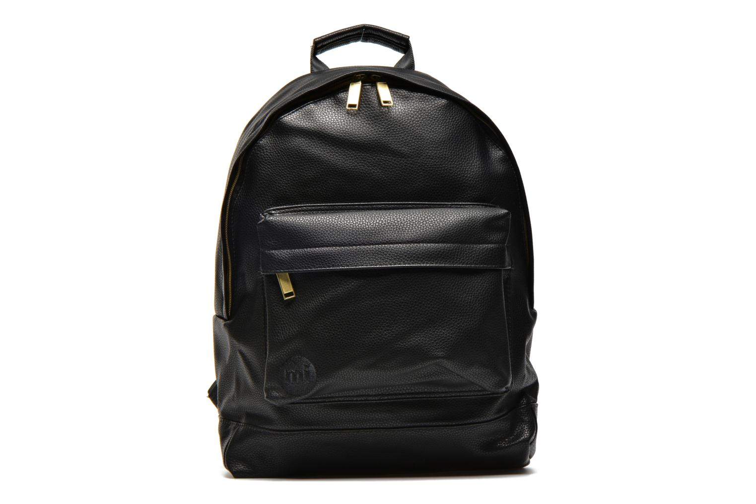 Gold tumbled Backpack Black