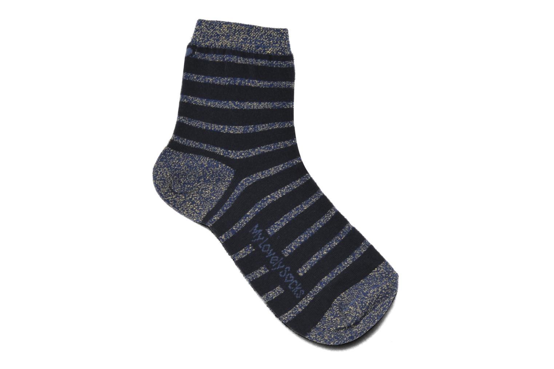 Chaussettes et collants My Lovely Socks Victoria Bleu vue détail/paire