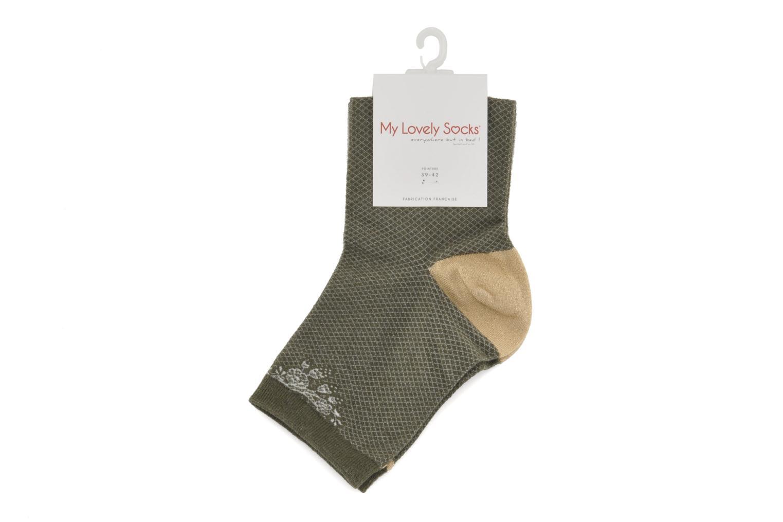 Chaussettes et collants My Lovely Socks Chaussettes Billie Vert vue derrière