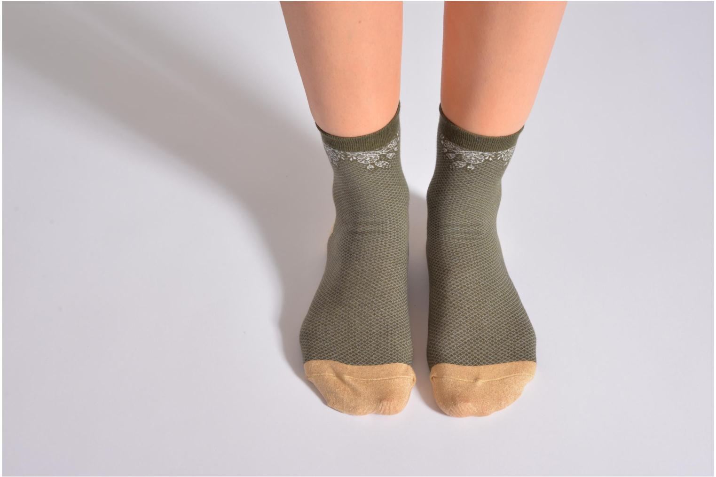 Chaussettes et collants My Lovely Socks Chaussettes Billie Vert vue haut