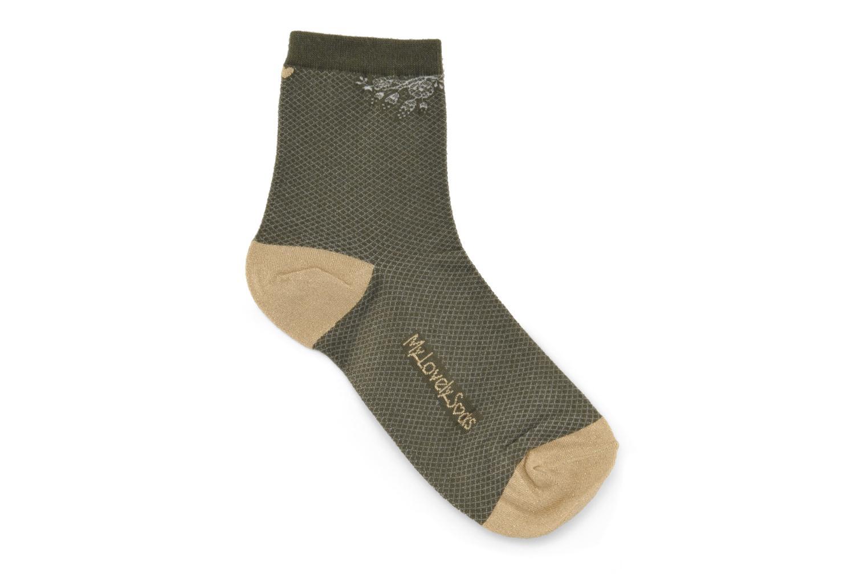 Chaussettes et collants My Lovely Socks Chaussettes Billie Vert vue détail/paire