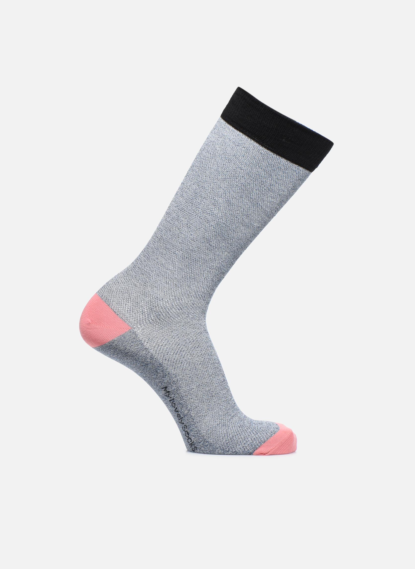 Chaussettes et collants My Lovely Socks Victor Bleu vue détail/paire