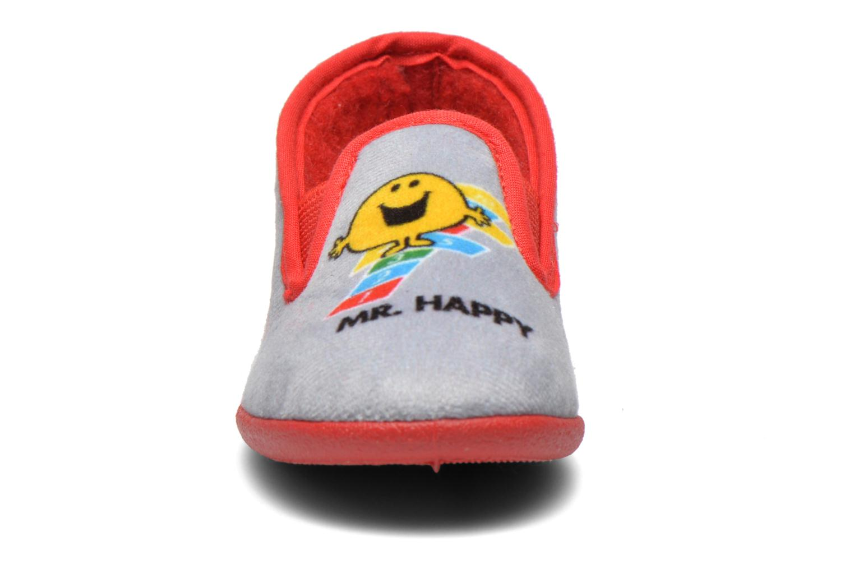 Chaussons Be Only Sans Gene School Gris vue portées chaussures