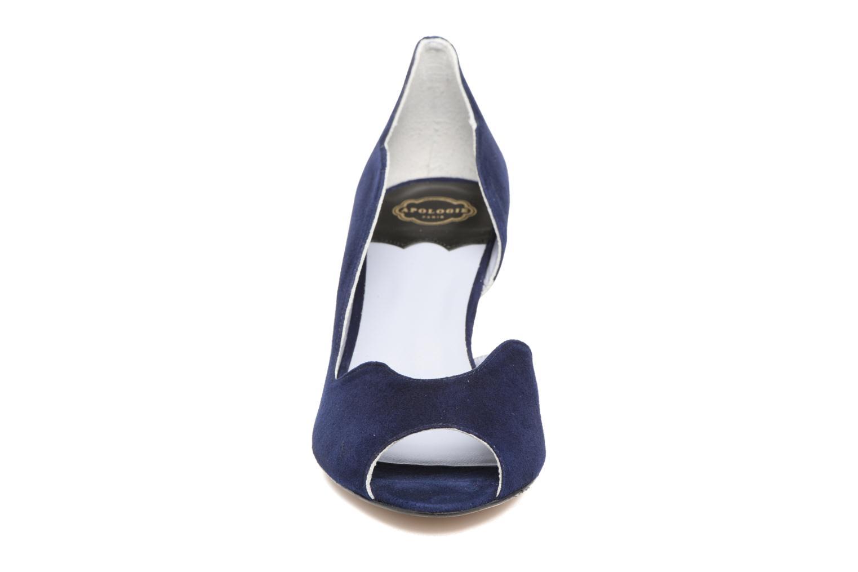 Escarpins Apologie Scarlett Bleu vue portées chaussures