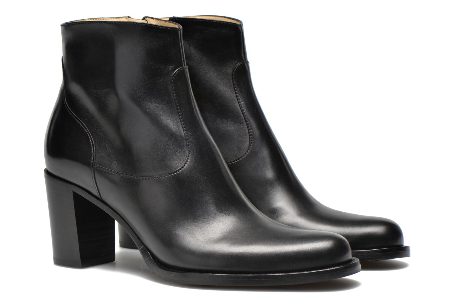 Legend 7 low zip boot Veau Noir