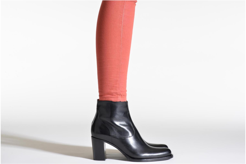 Bottines et boots Free Lance Legend 7 low zip boot Noir vue bas / vue portée sac