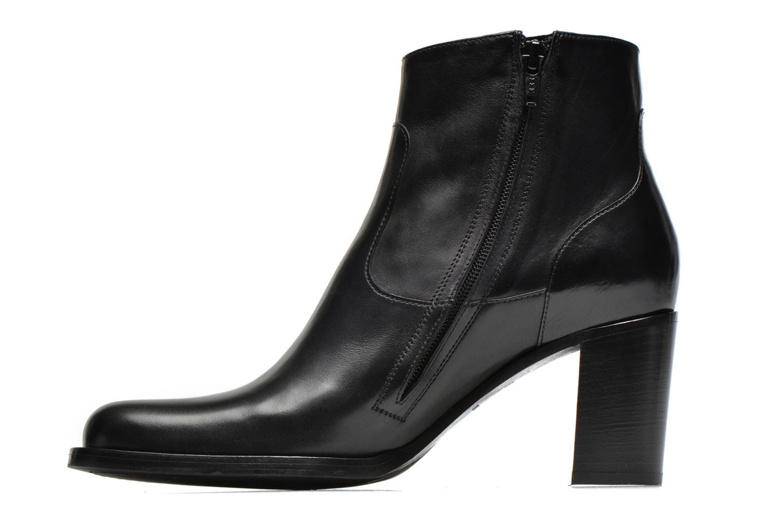 Bottines et boots Free Lance Legend 7 low zip boot Noir vue face