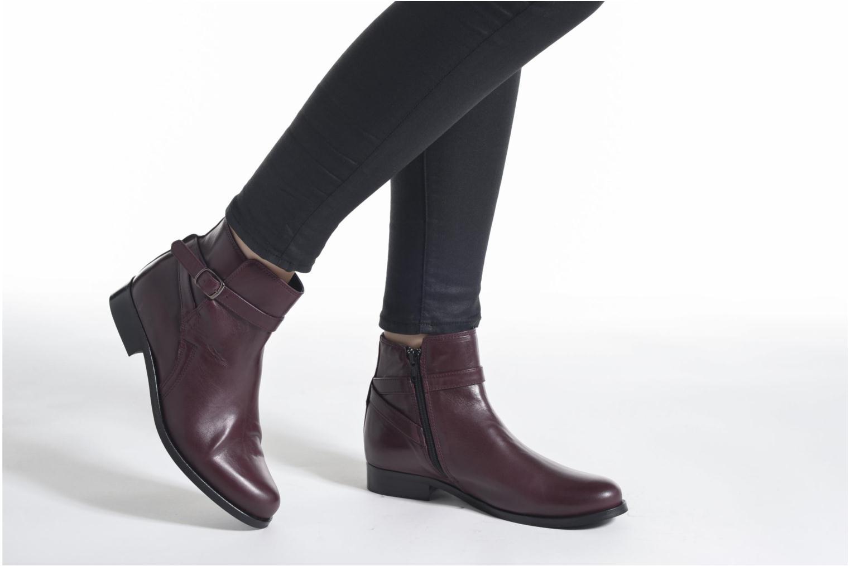 Bottines et boots PintoDiBlu Botania Noir vue bas / vue portée sac