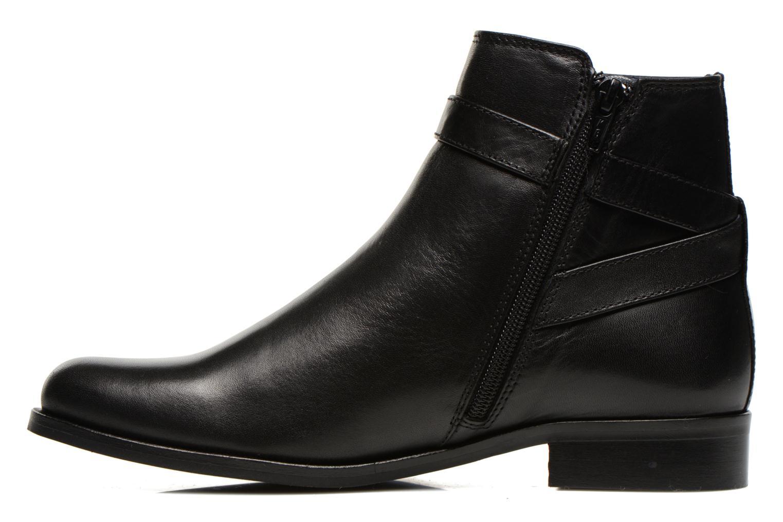 Bottines et boots PintoDiBlu Botania Noir vue face