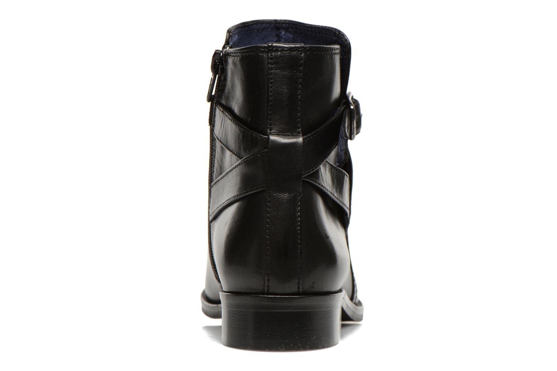 Bottines et boots PintoDiBlu Botania Noir vue droite