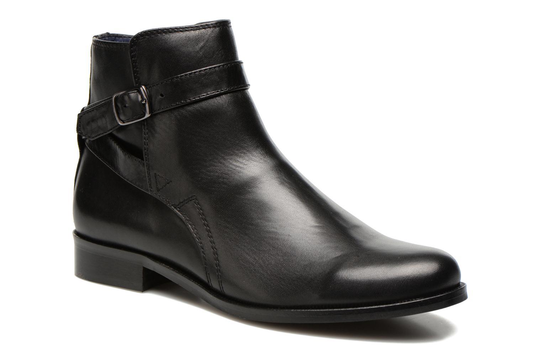 Bottines et boots PintoDiBlu Botania Noir vue détail/paire