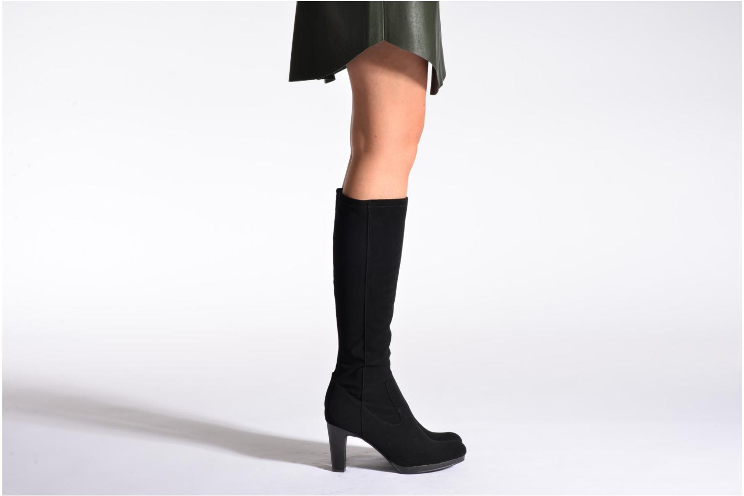 Boots & wellies Divine Factory Sulliyan Black view from underneath / model view