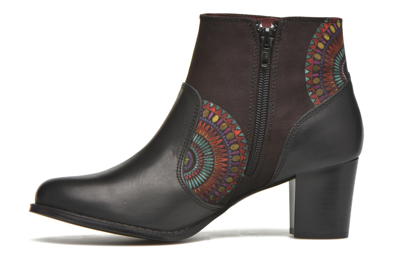 Bottines et boots Desigual Cris Noir vue face