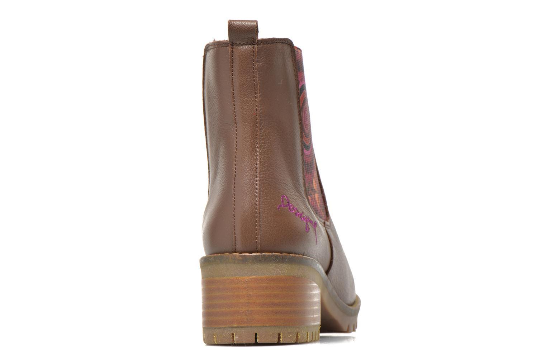 Stiefeletten & Boots Desigual Charly braun ansicht von rechts