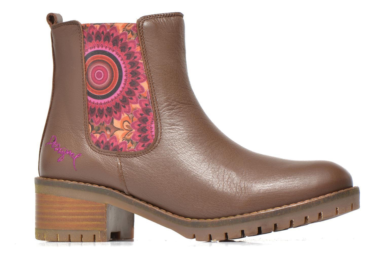 Stiefeletten & Boots Desigual Charly braun ansicht von hinten