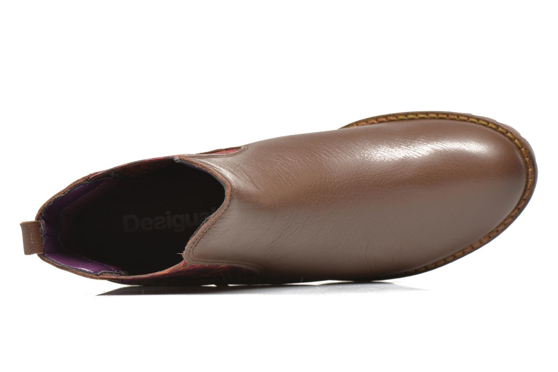Stiefeletten & Boots Desigual Charly braun ansicht von links