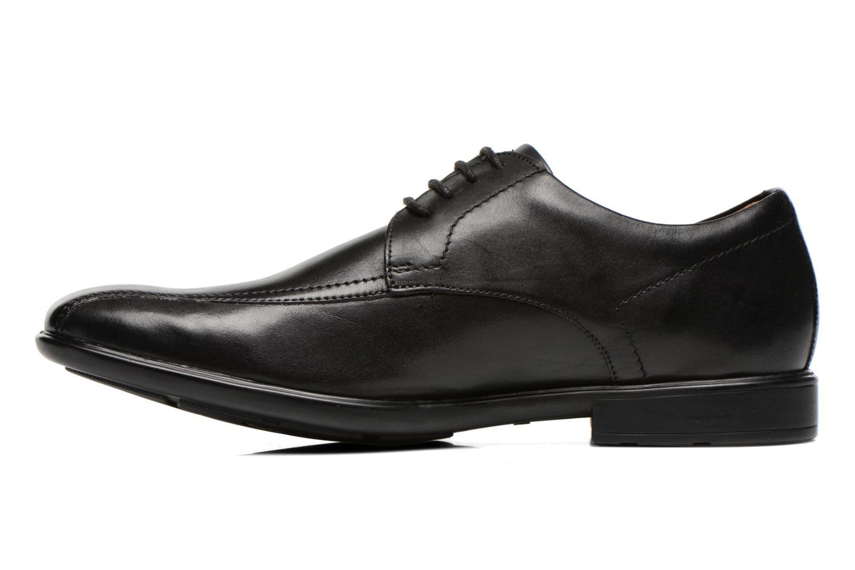 Chaussures à lacets Clarks Gosworth Over Noir vue face